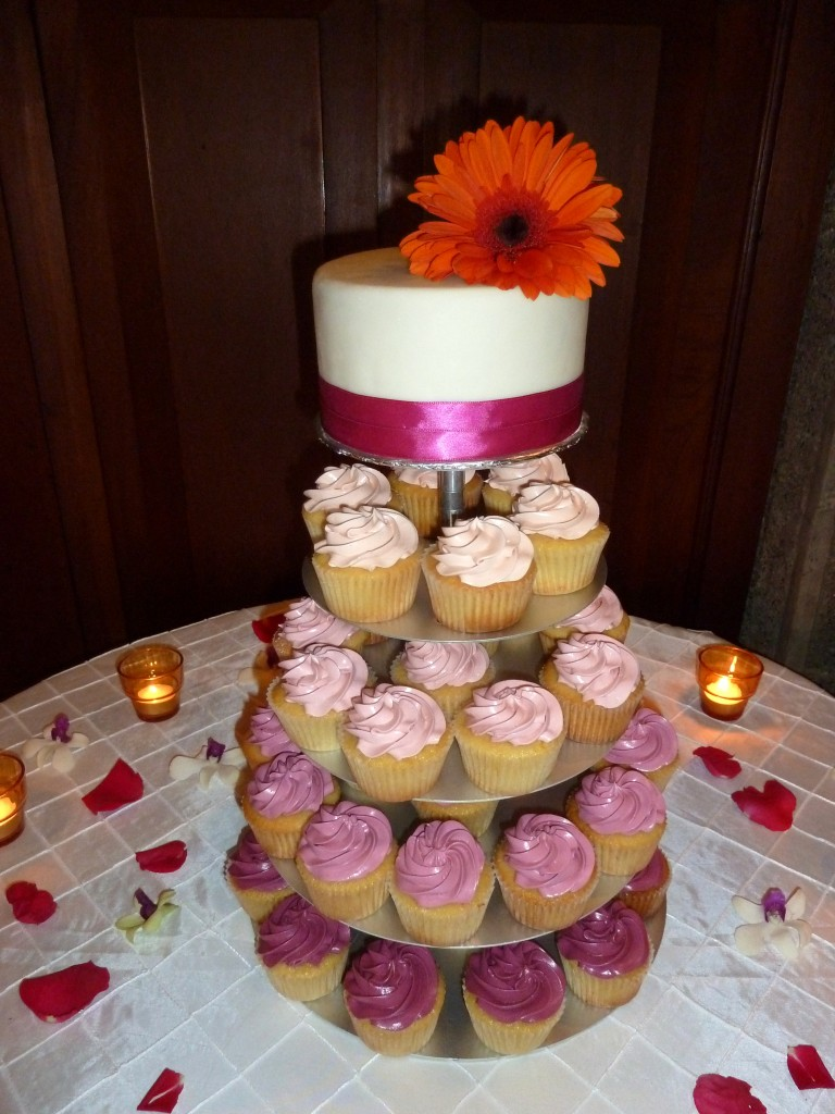 cupcakes in pink