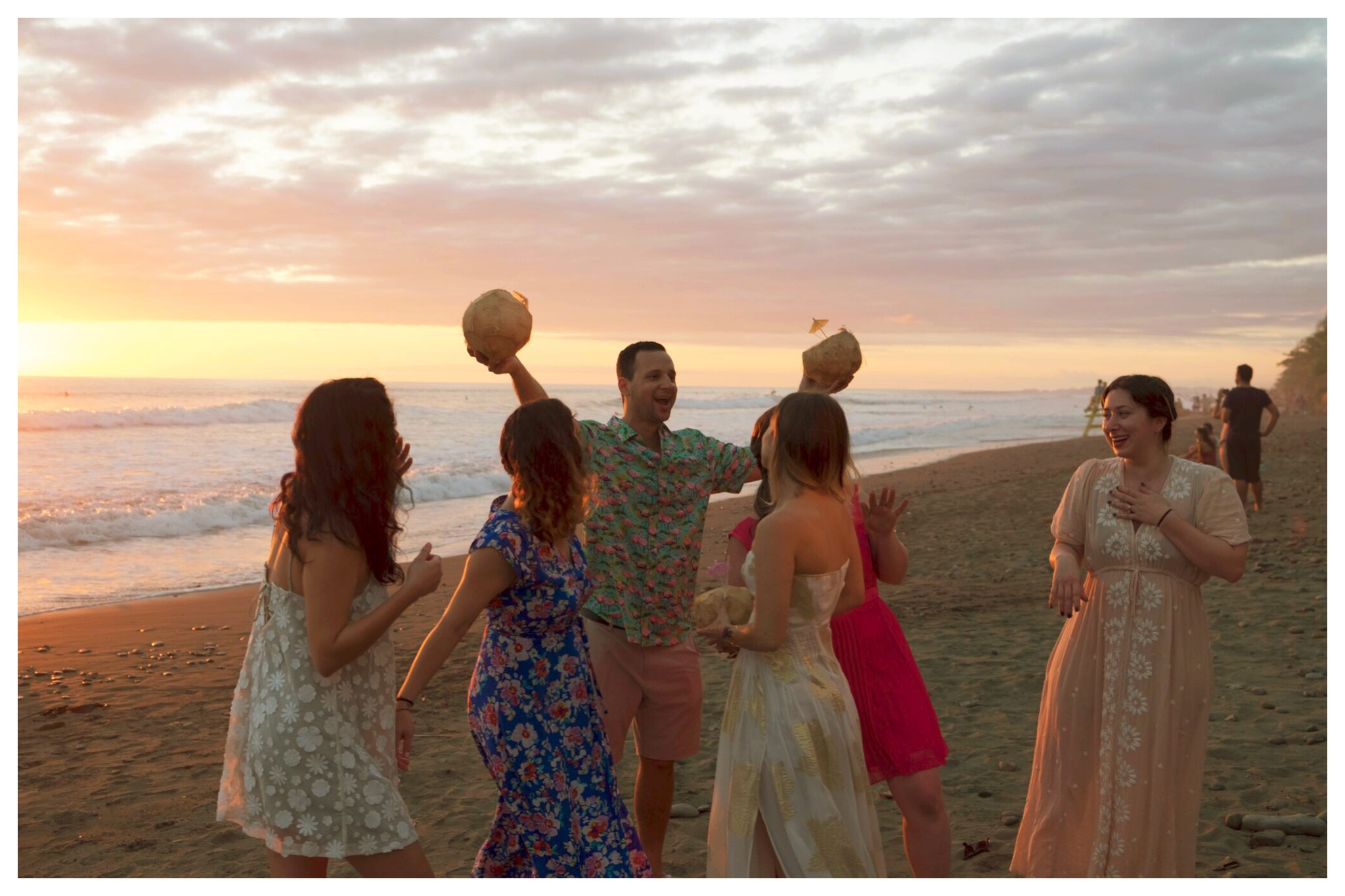 dominical beach wedding celebration