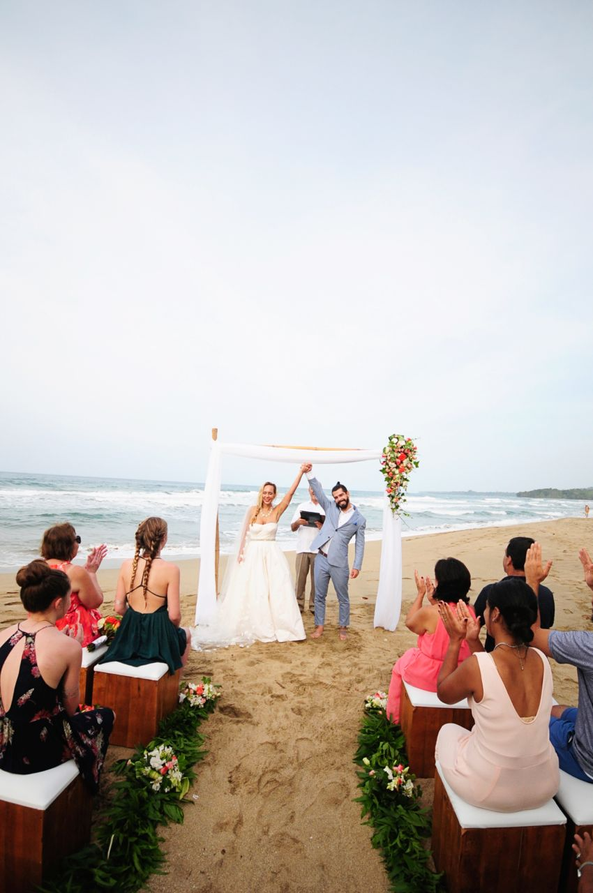 you're married at playa cocles