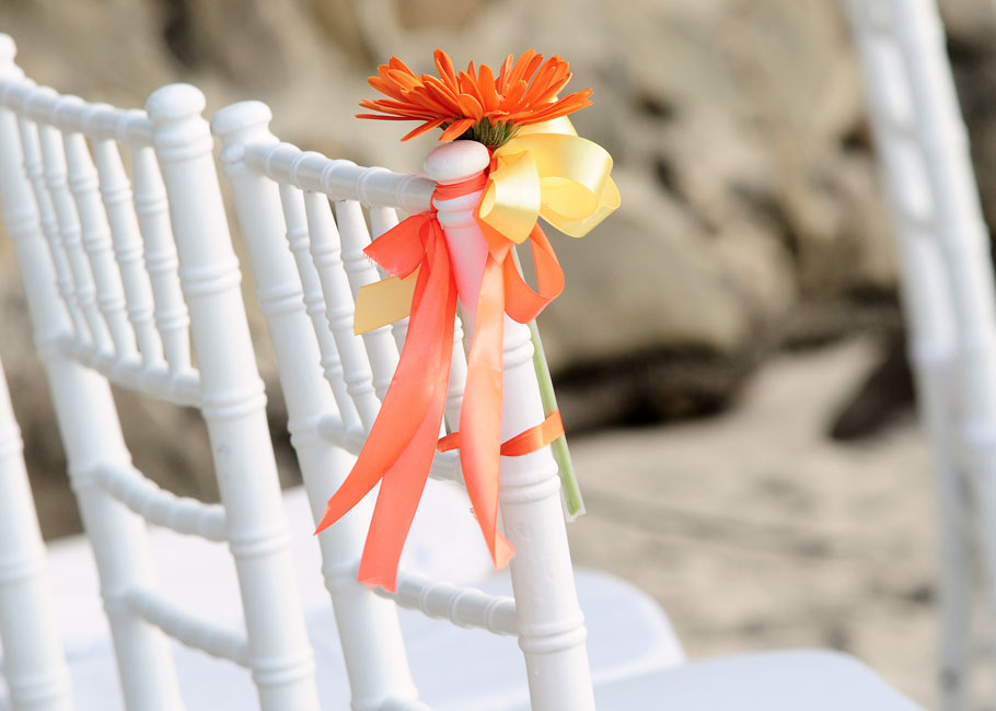 chair decor for ceremony