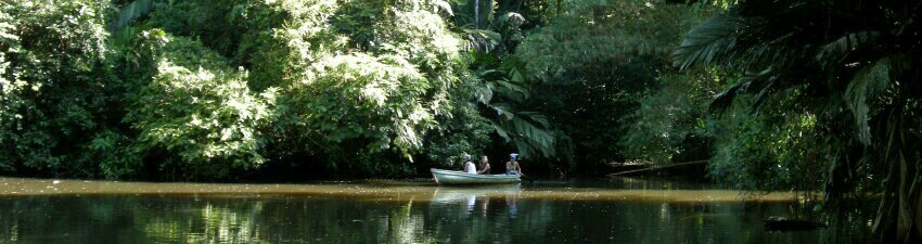 Tortuguera National Pak boat ride, Costa Rica - a honeymoon activity